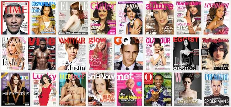 use magazine cover for article title ideas